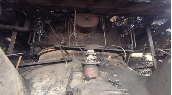 钢铁厂高炉雷达探尺