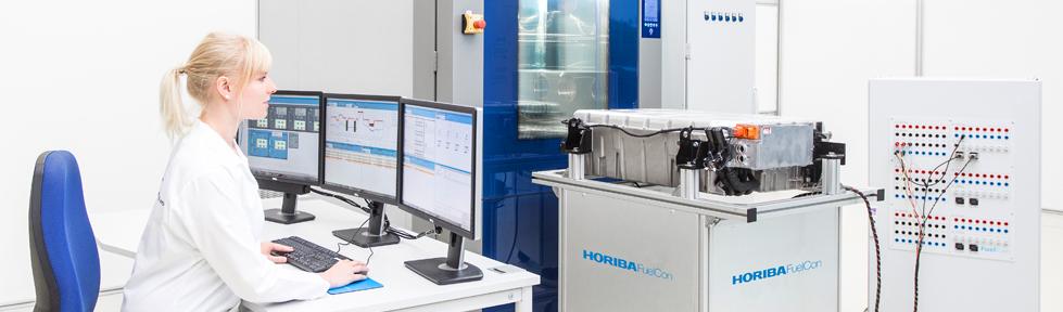 HORIBA FUELCon 电池测试系统