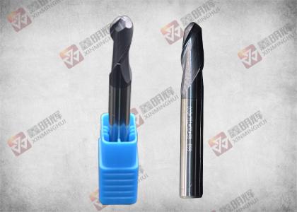 钨钢二刃球刀R4*16.0*60L*D8