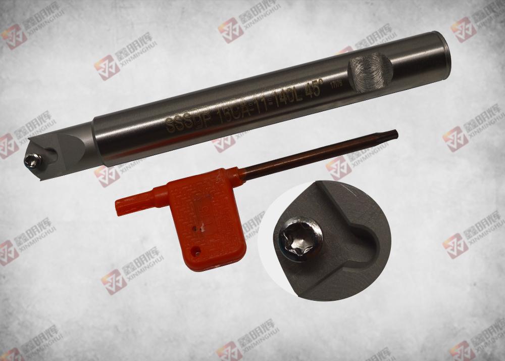 钨钢抗震刀杆SSSDR  16CA-11-140L  45°系列