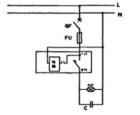 图2 复合式投切开关补偿装置原理图