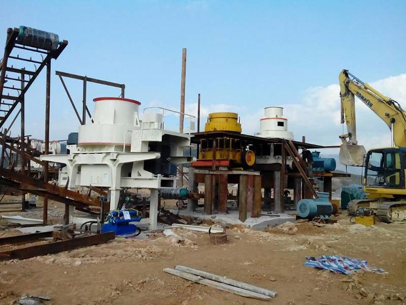 浙江温州-花岗岩碎石生产线