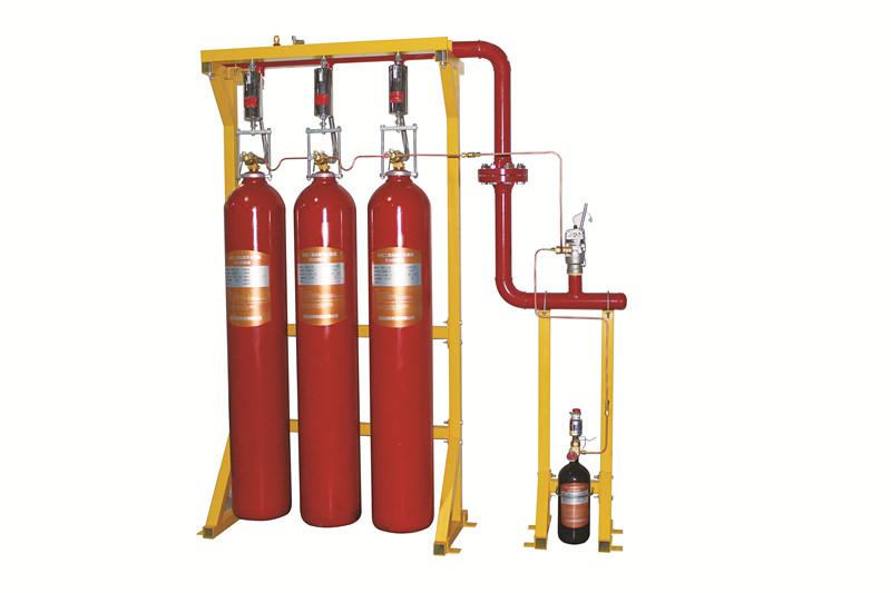 High pressure carbon dioxide fire extinguishing equipment