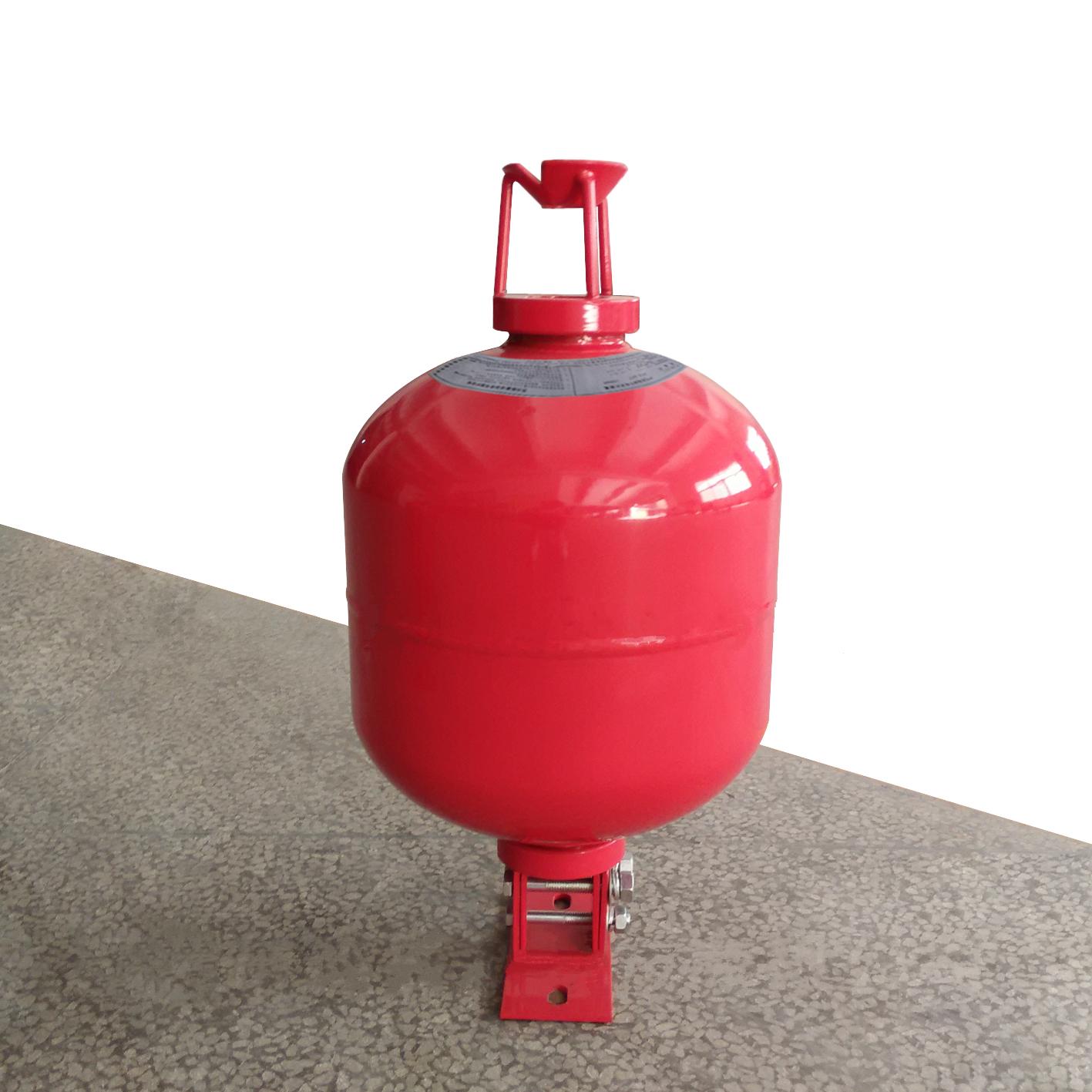 Hanging superfine dry powder fire extinguishing device (non-storage type)