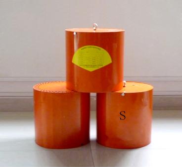 Hot aerosol fire extinguishing device (hanging type)