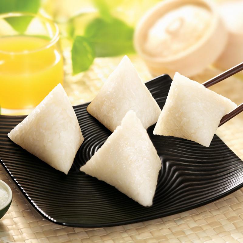 白玉香糯粽