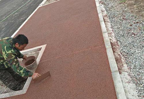 美地宝-透水混凝土路面