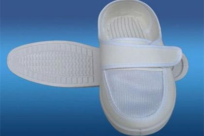 防静电帆布网眼鞋