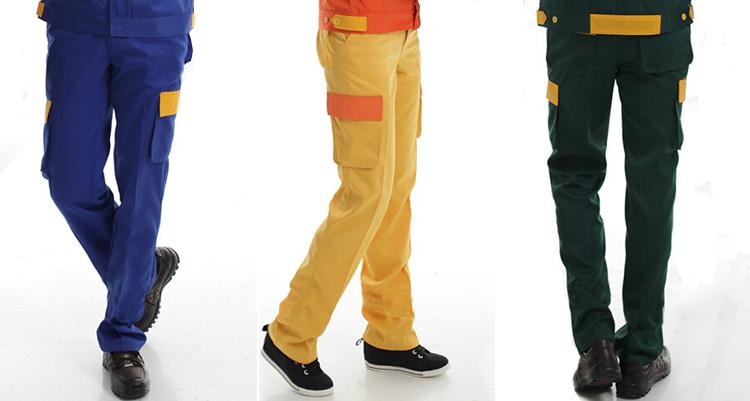 防静电多袋工装裤