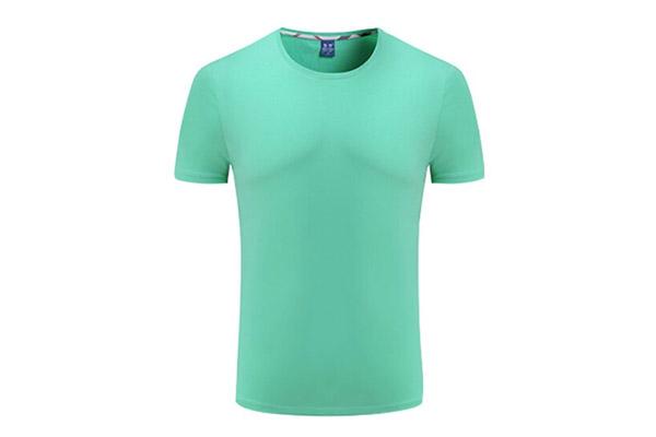 现货180克莱卡新兰棉圆领短袖T恤