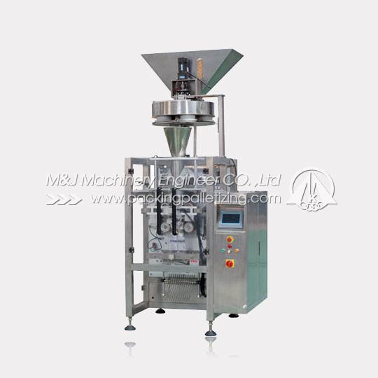 Granule vertical form fill seal machine