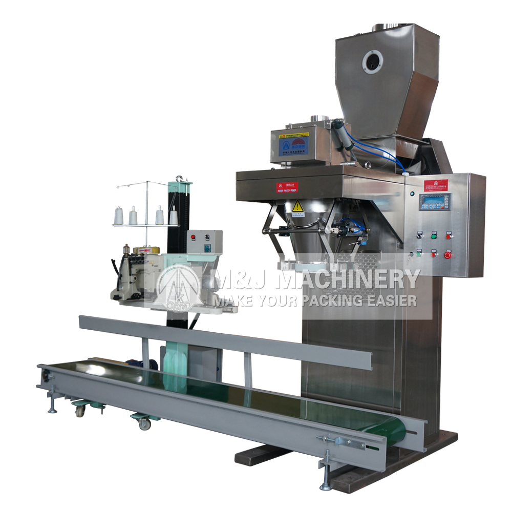 Gross weight bagging machine