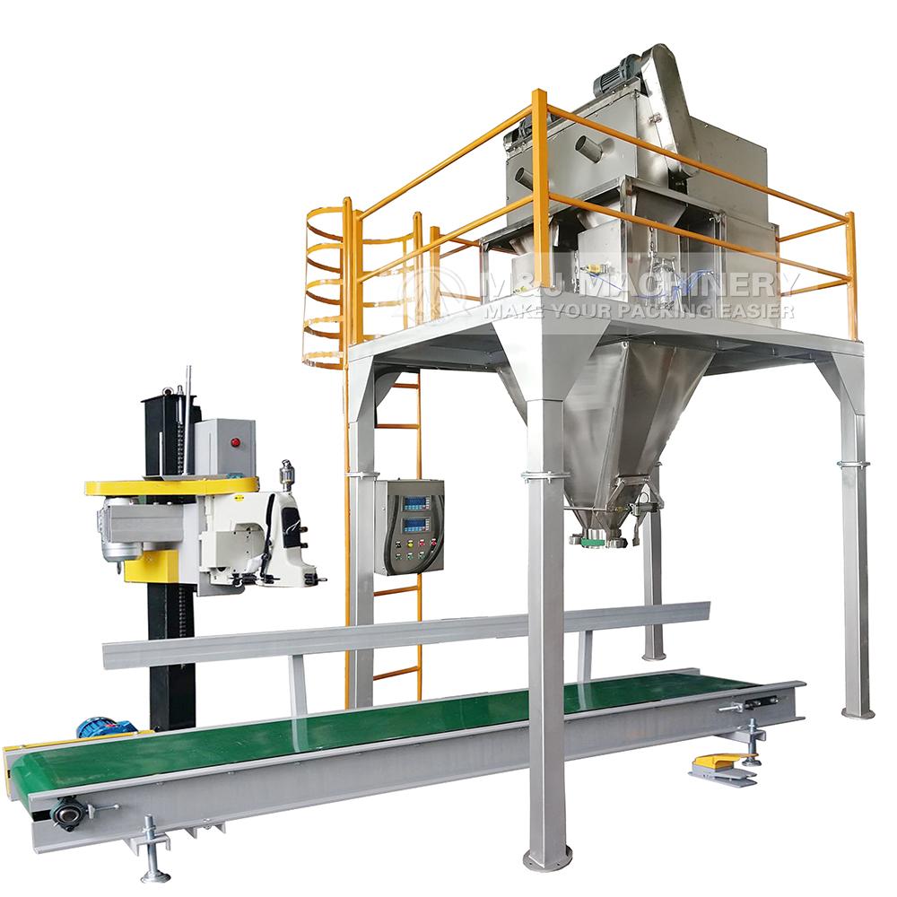 organic fertilizer packing machine, biofertilizer bagging system