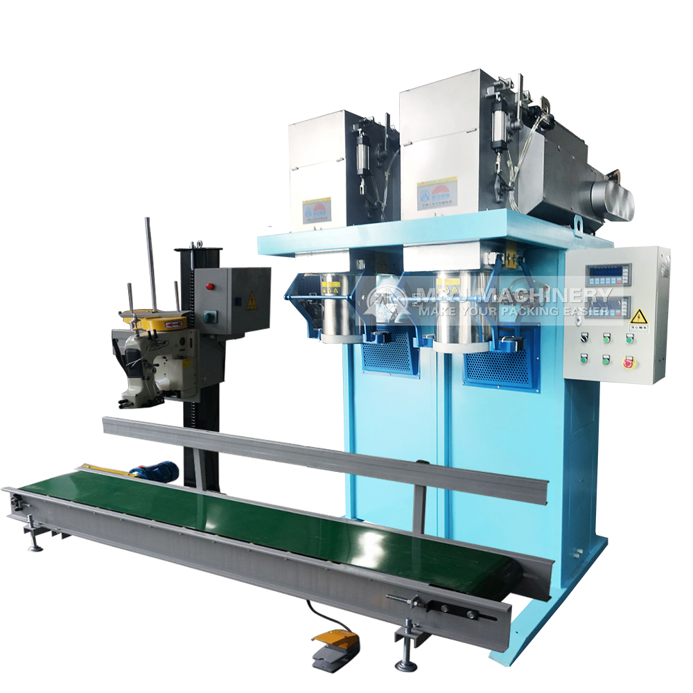 High speed net weighing bagging machine