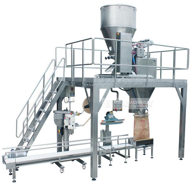 PVC powder filling machine,plstic powder packing machine