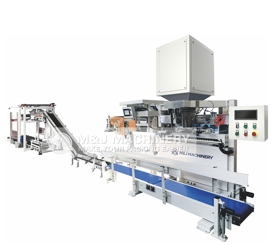 Quasi-automatic packaging machine