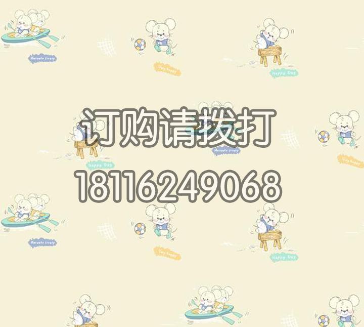 卡通老鼠团墙纸宝贝系列-01020