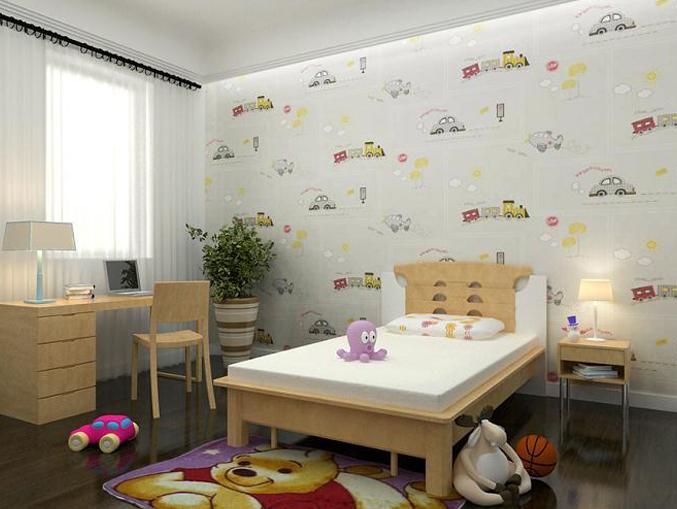家庭卡通图案墙纸宝贝系列-03010