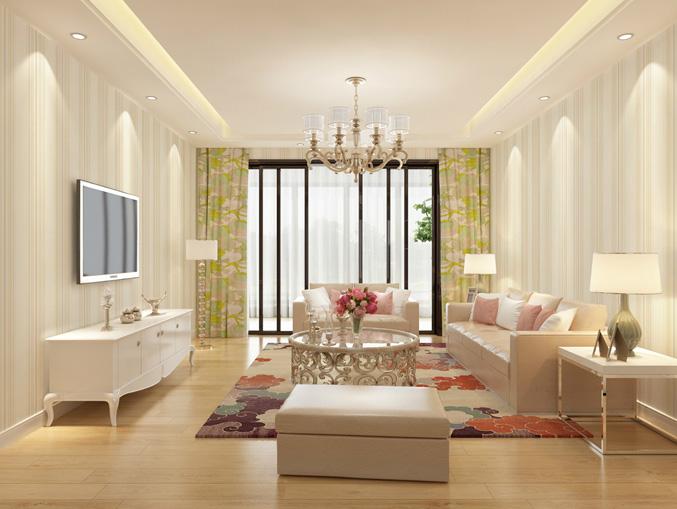 家庭客厅条纹状PVC墙纸 风采ME0401