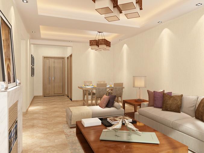 家庭客厅素色PVC墙纸 风采ME0501
