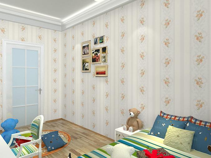 酒店花卉图案PVC墙纸 风采ME1004