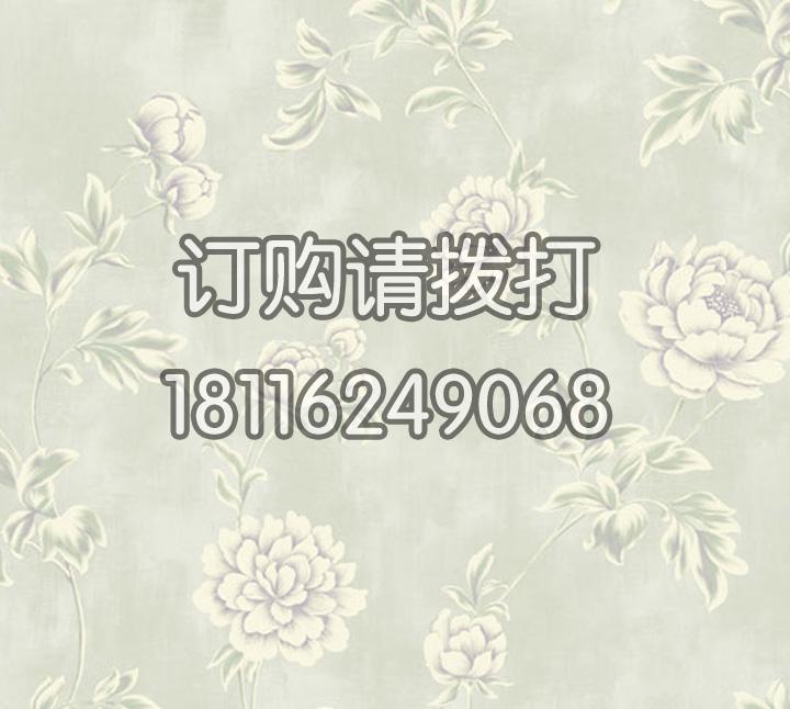 家庭客厅花卉图案无纺墙布 金领GC0804