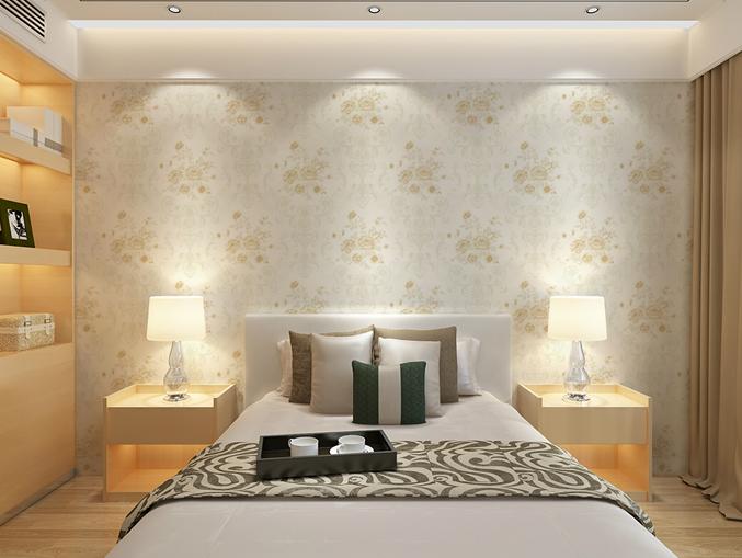 酒店客房无纺墙布 金领GC0501
