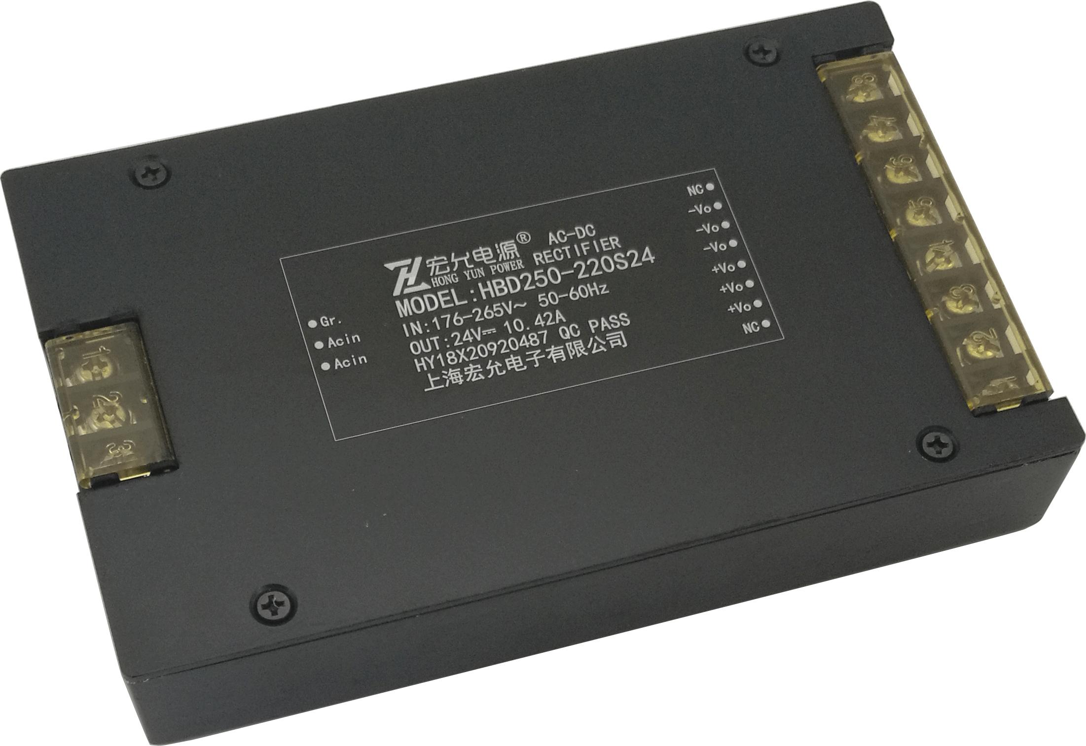 HBD系例 200-400W模塊電源