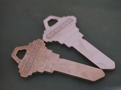 锁芯钥匙抛光