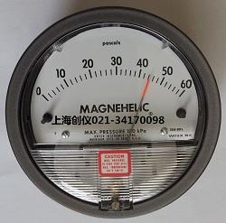 压差表2000-60pa Dwyer MAGNEHELIC机械式压差表