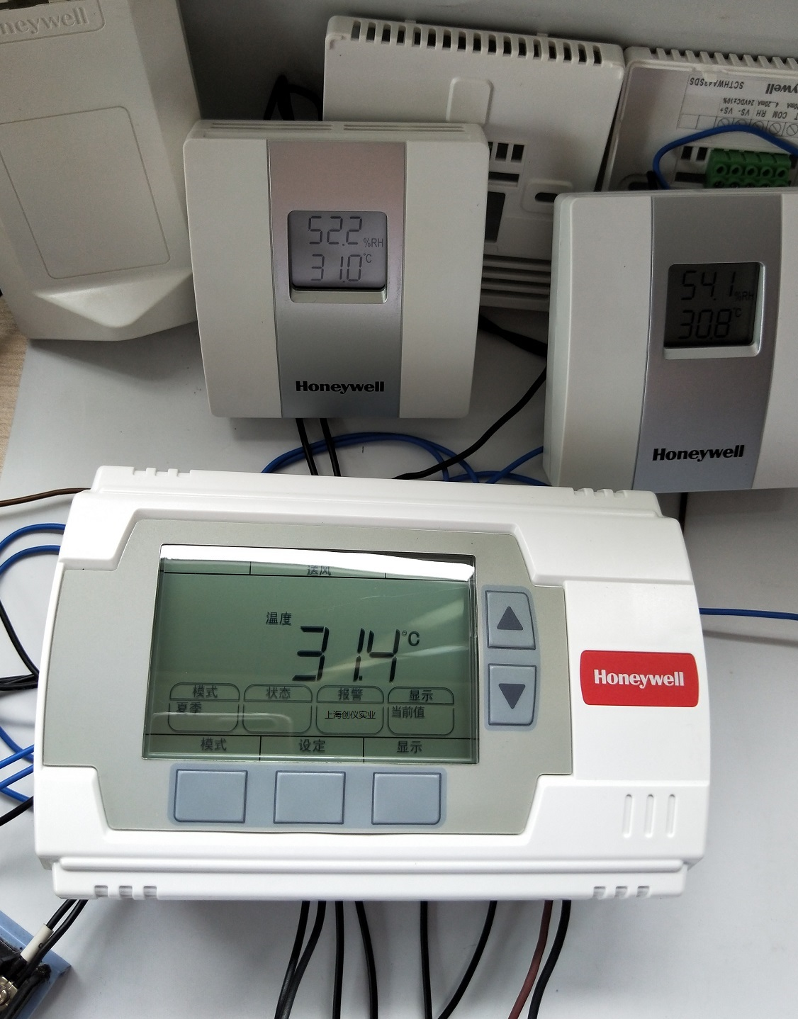 温湿度传感器与控制器UB1211CH HONEYWELL 调试必须注意事项说明
