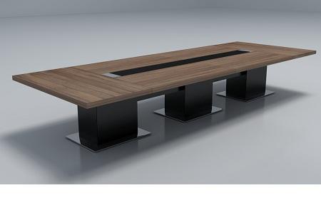 钢木组合会议桌