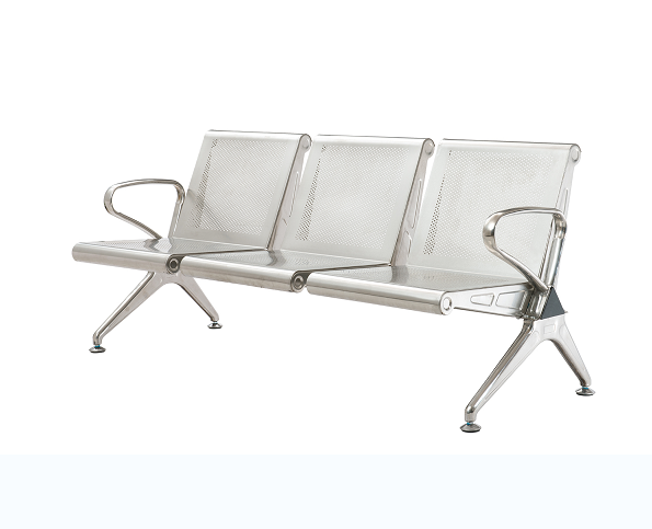不锈钢机场椅01
