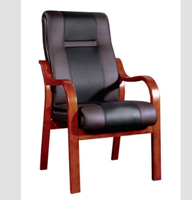 实木会议椅01