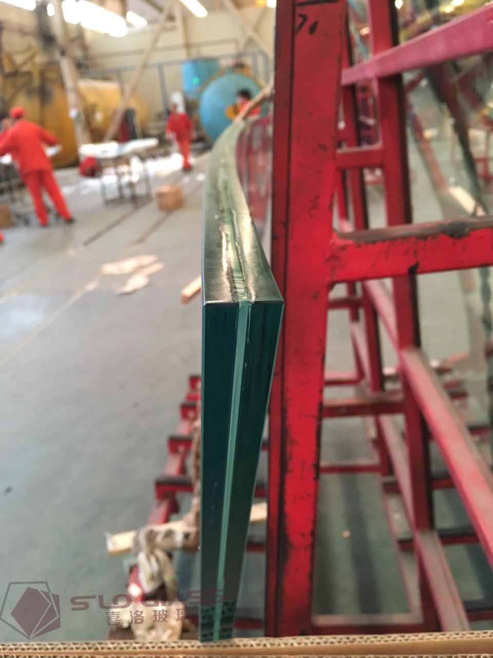 透明夹胶玻璃