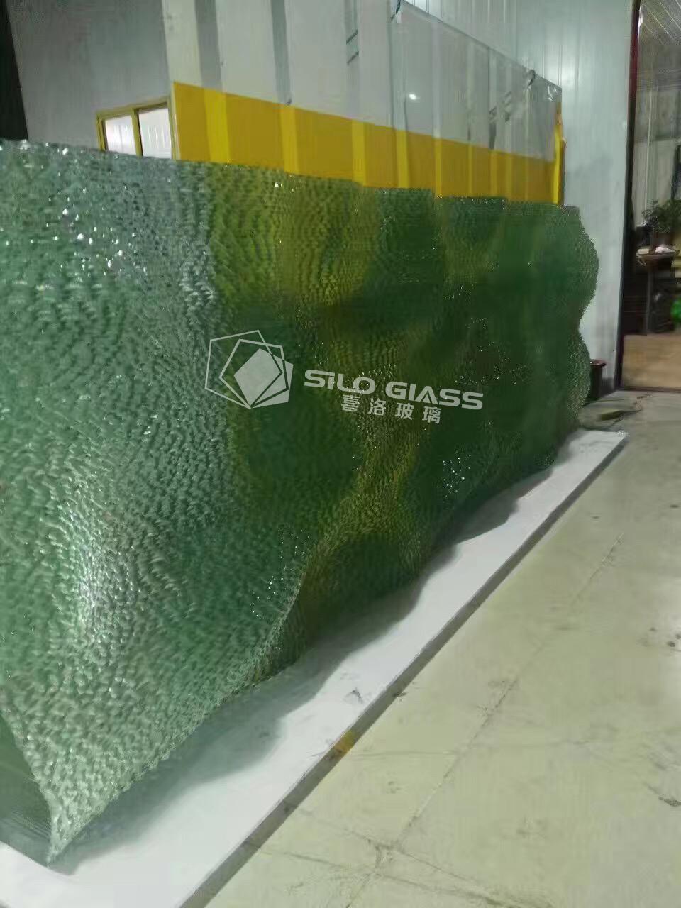 波浪叠层玻璃