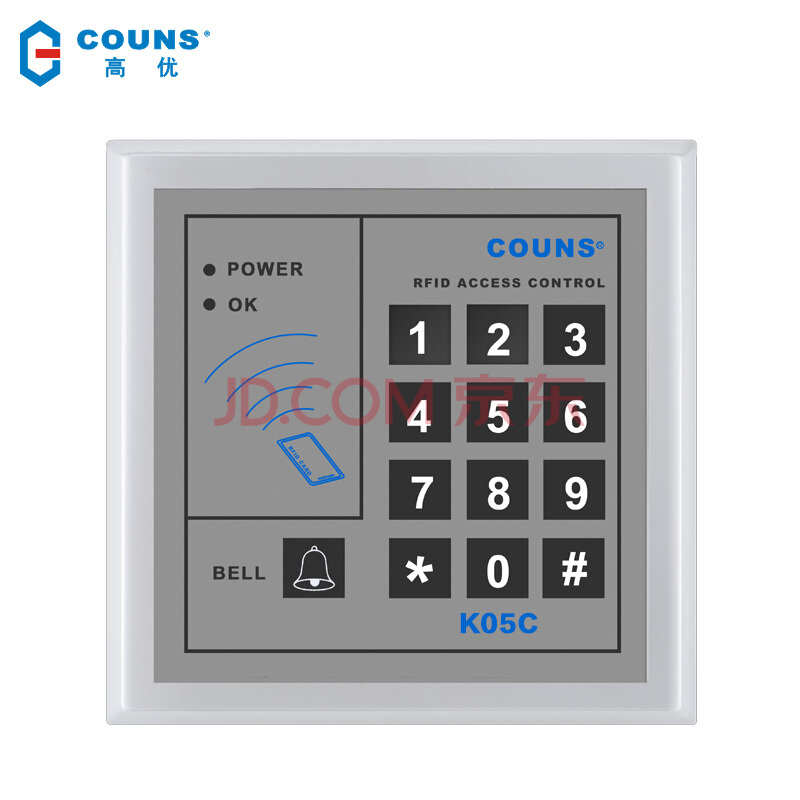 CU-K05 credit card, password access control