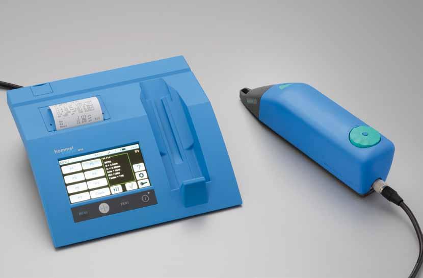 Hommel便携式粗糙度测量仪W20