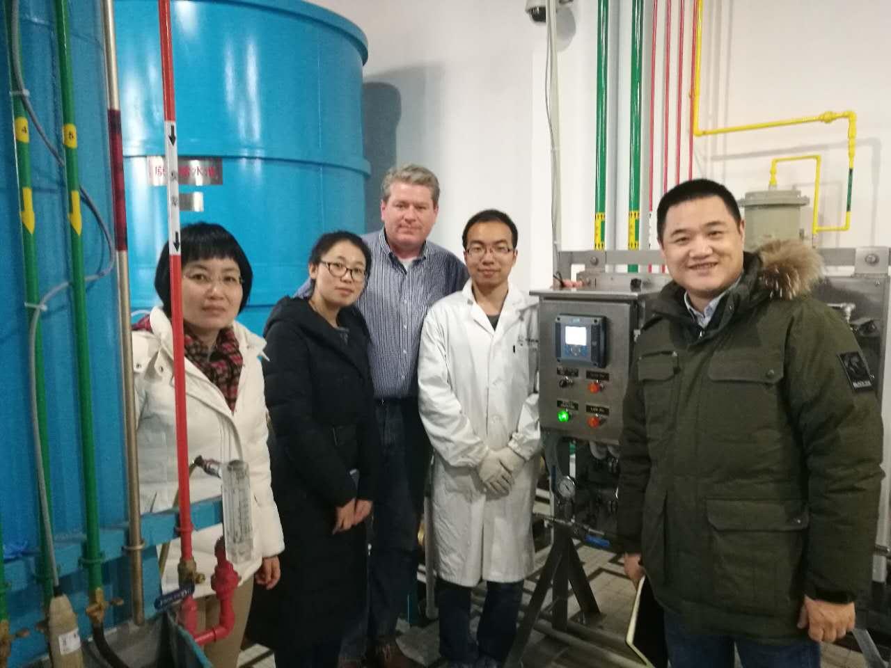 祝賀TOMCO首套水處理pH控制系統落戶上海