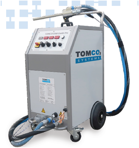 TOMCOJET 2008 Combi Pro complete干冰清洗机