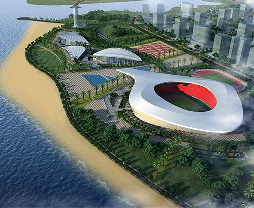 2014年在建工程案例分享-湛江奥体中心主体育场经典案例分享