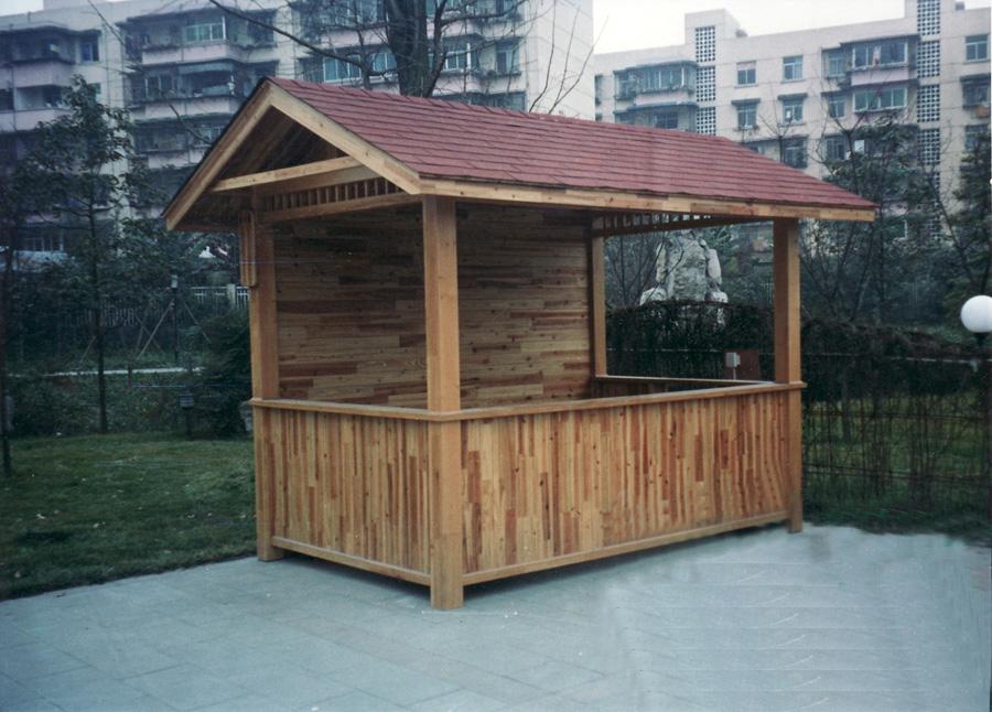 木質售貨亭