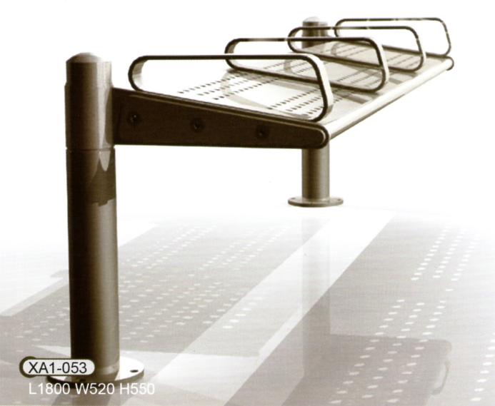 鋼結構座椅XA1-053