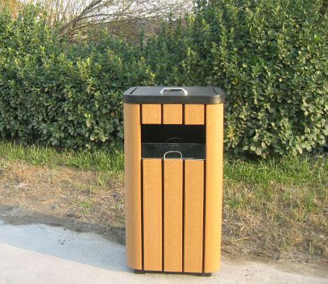 塑膠木垃圾桶XB5-001