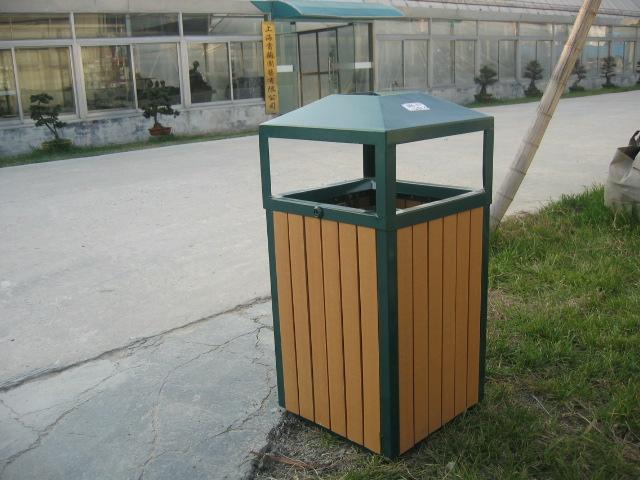 塑膠木垃圾桶XB5-004