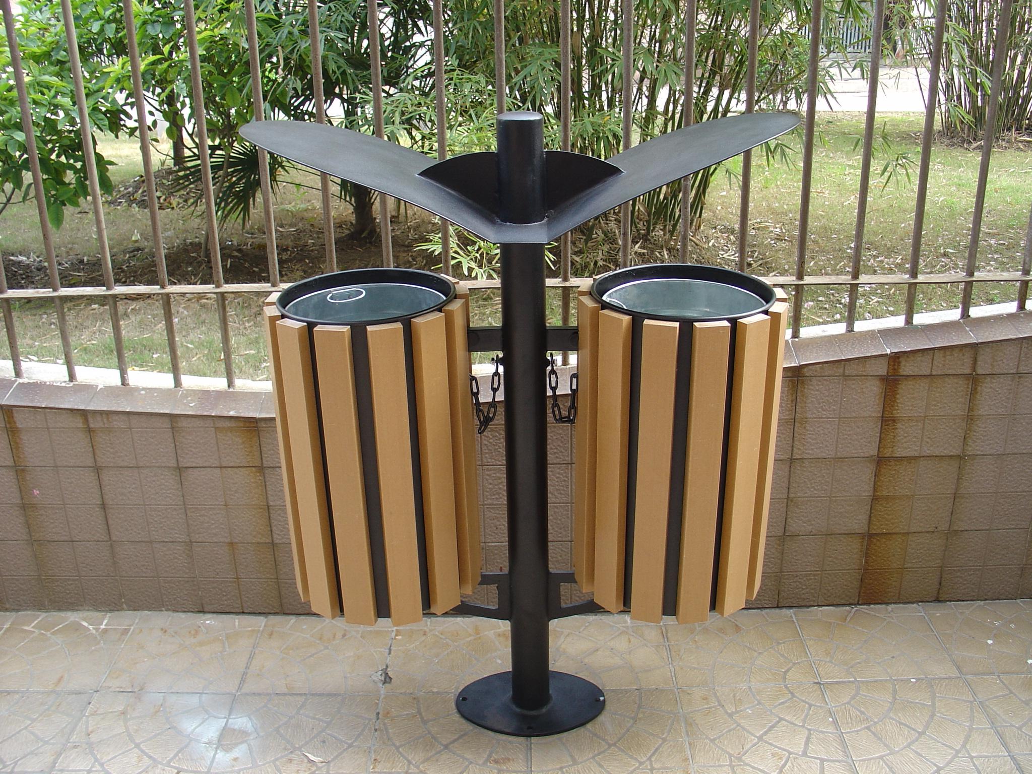 塑膠木垃圾桶XB5-006