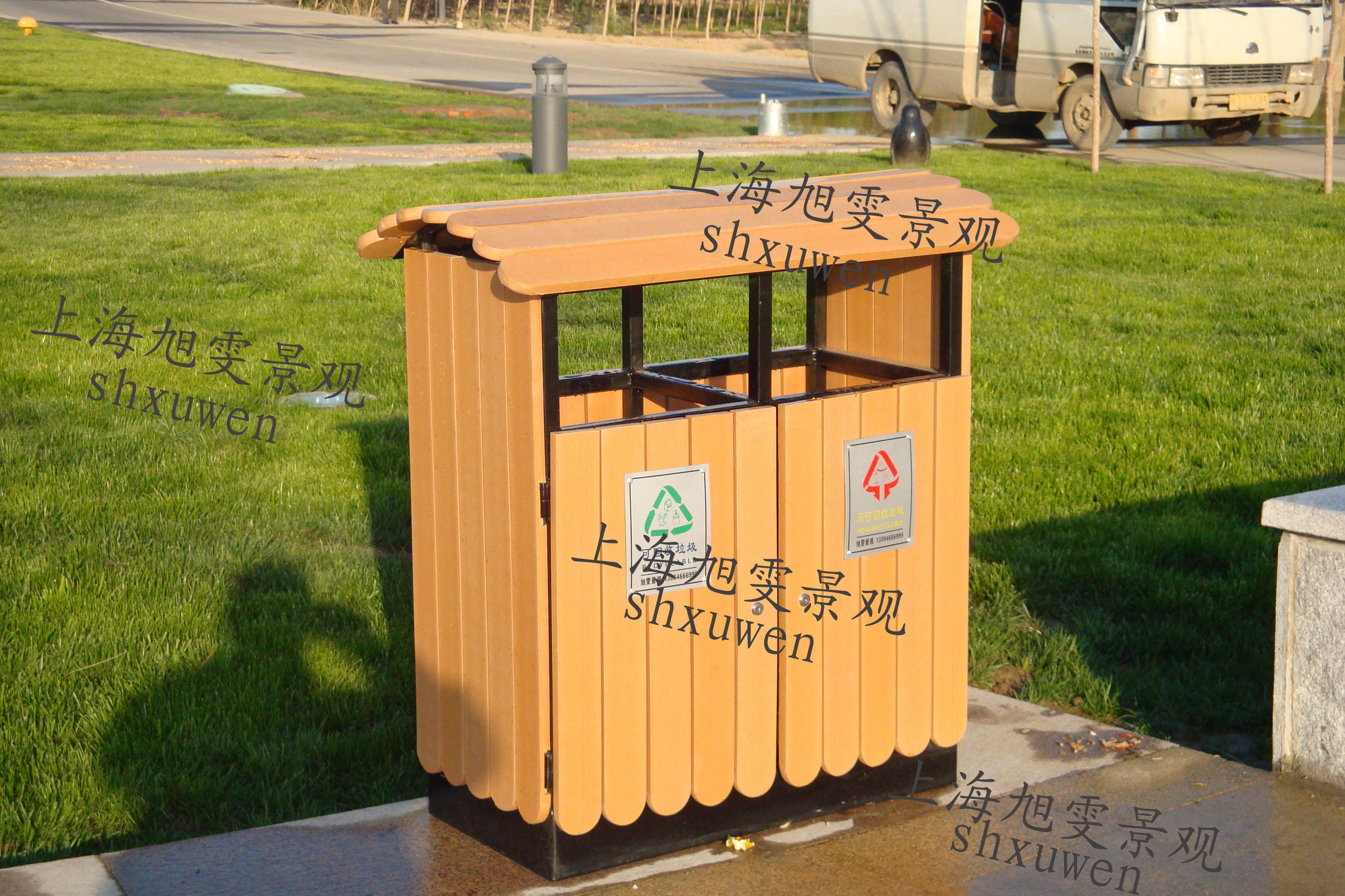 塑膠木垃圾桶XB5-010