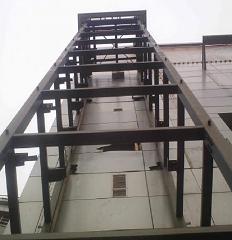 钢结构电梯加固设计