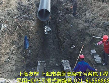 上海市嘉閔高架地面排污系統工程