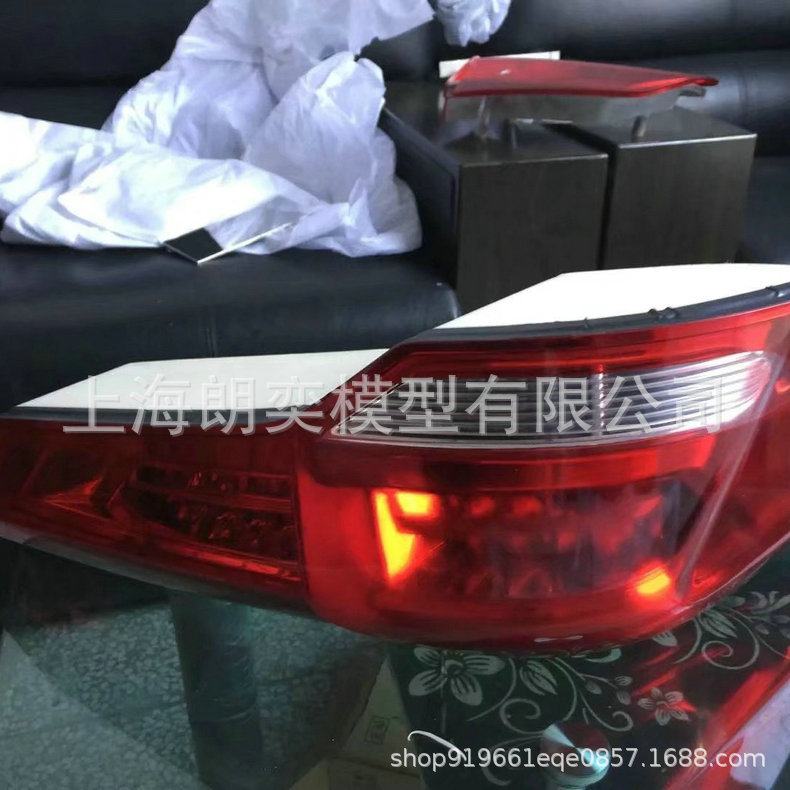 汽车车灯手板模型
